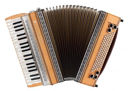 Alpenklang Pro accordéon IV/96 MH aulne