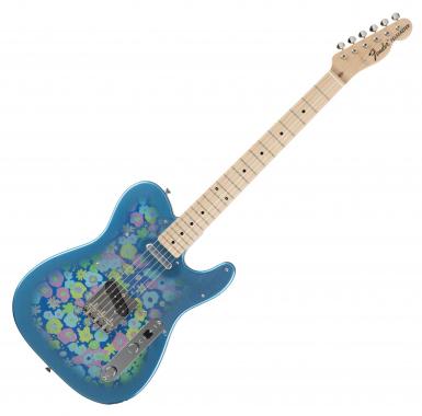 Fender Japan Ltd. Classic 69 Tele Blue Flower