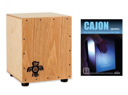 XDrum PERC CP-371 Junior Cajon Peruana Ash Set inkl. Cajonschule