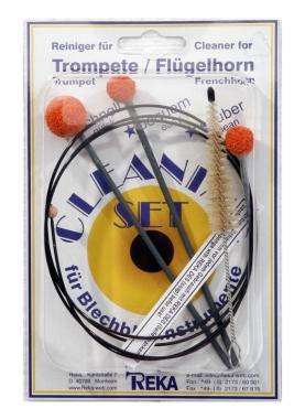 Reka Cleaning Set für Trompete, Cornet, Flügelhorn