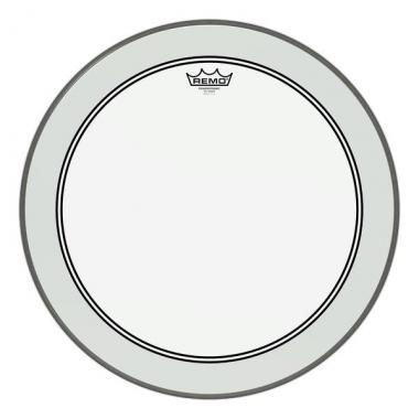 """Remo 22"""" Powerstroke P3 Clear Bass Drum"""