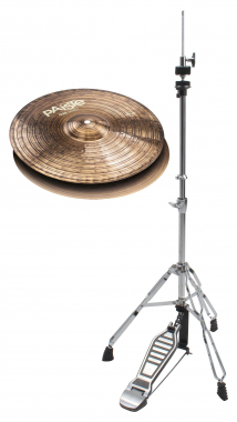 "Paiste 900 Series 14"" Hi-Hat + Maschine SET"