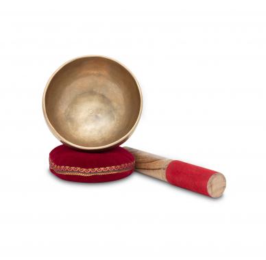 XDrum Omshanti singing bowl 10 cm complete set