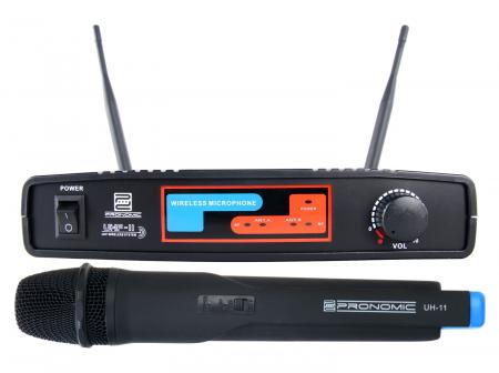 Pronomic UHF-11 Hand Funkmikroset K8 864,35 MHz  - Retoure (Zustand: sehr gut)
