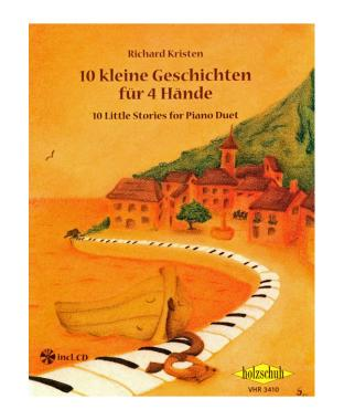 10 kleine Geschichten für 4 Hände