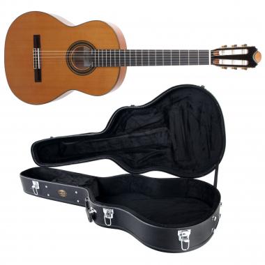 antonio calida cgs c klassikgitarre inkl koffer massive zeder. Black Bedroom Furniture Sets. Home Design Ideas