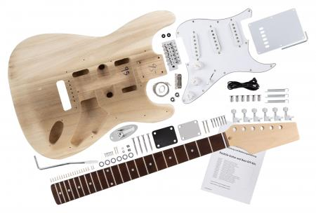 Rocktile Electric Guitar Kit fai da te ST-Style