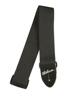 "Gibson Nylon Guitar Strap 2"" Black"