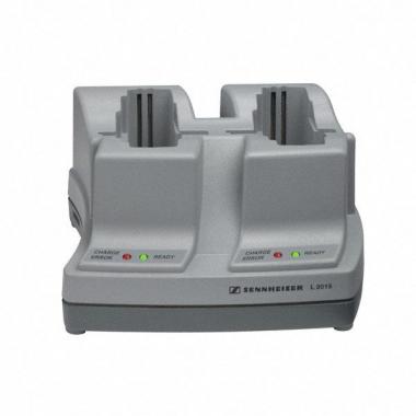 Sennheiser L2015 Ladegerät für 2 Empfänger (2x BA2015 oder 2x EK/SK 300/500)