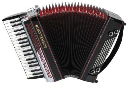 Alpenklang Pro Accordion III/72 MH, Black
