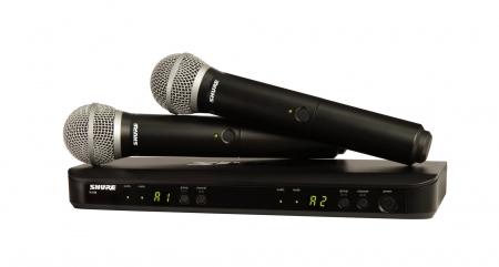 Shure BLX288/PG58 S8 Dual Vocal Funksystem