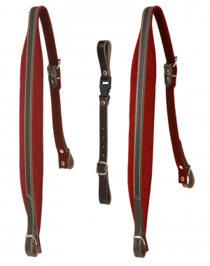 Alpenklang Accordion Straps 4-row (Red)