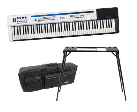 Casio PX-5S Stagepiano Privia Pro STAGE SET inkl. Keyboardständer + Tasche