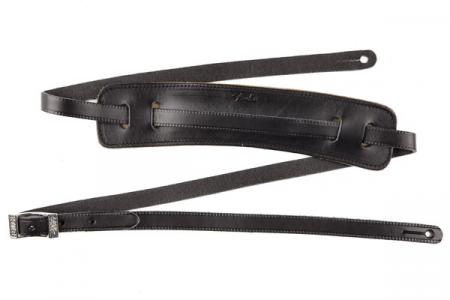 Fender Strap Super Deluxe Vintage Leather BLK