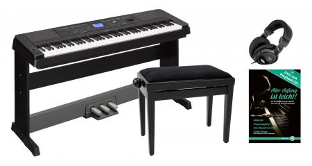 Yamaha DGX-660B Portable Piano SET schwarz