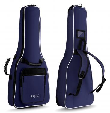 Rocktile 1/2 Classical Guitar Gig Bag Padded + Backpack Straps Blue