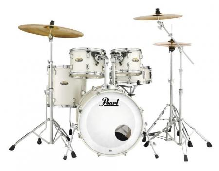 Pearl DMP925F/C Decade Maple #229 White Satin Pearl
