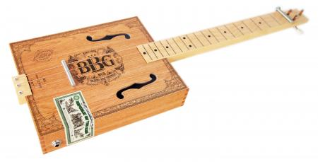 Hinkler BBG Electric Blues Cigar Box Slide Guitar Kit