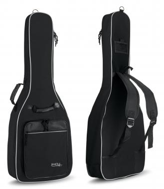 Rocktile Classical Guitar Gig Bag Padded + Backpack Straps Black