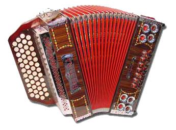 Beltuna Alpstar IID Harmonika 4-reihig, 2-chörig Palisander