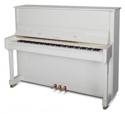Feurich Mod. 122 Universal Piano Weiß