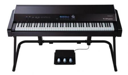 Roland V-Piano, mit Sound Modeling PHA-III Ivory Feel-Klaviatur, Editor-Software