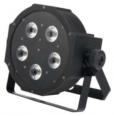 Showlite FLP-5x9W Flatline Panel LED Scheinwerfer RGB  - Retoure (Zustand: sehr gut)