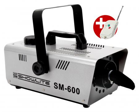 Showlite SM-600 Snow Machine 600W incl. remote control