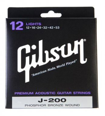 Gibson J200L Phosphor Bronze Light