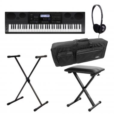 SET Casio WK-7600 Keyboard Deluxe