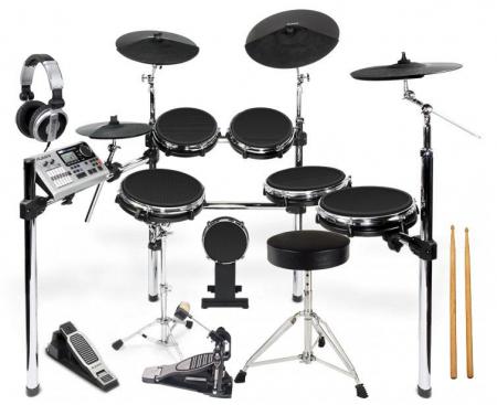 alesis dm10 x kit mesh electronic drum set. Black Bedroom Furniture Sets. Home Design Ideas
