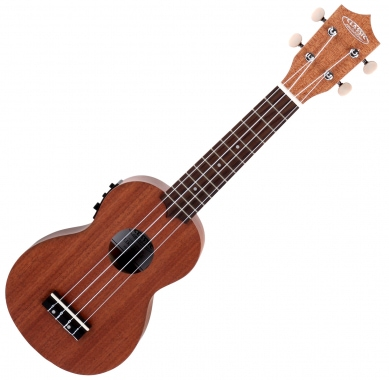 Classic Cantabile US-400CE Soprano Ukulele With Pickup Natural