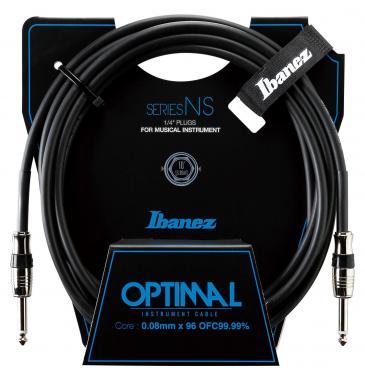 Ibanez NS10 Optimum Guitar Cable 3,05m - Black