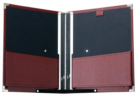 Classic Cantabile B02BR Music Folder Standard Brown