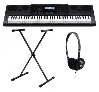 Casio WK-6600 Keyboard SET inkl. Ständer+ Kopfhörer