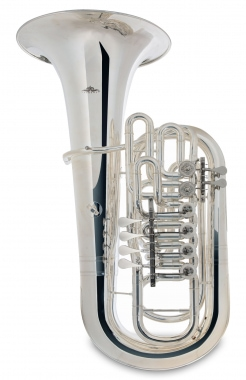 Lechgold FT-15/6S F Tuba Silver Plated