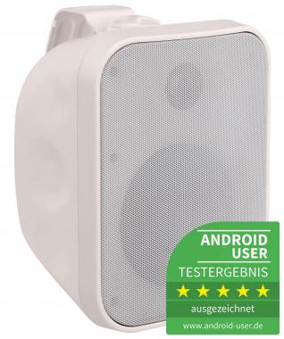 Pronomic OLS-5 WH Outdoor-Lautsprecher weiß 120 Watt  - Retoure (Zustand: sehr gut)