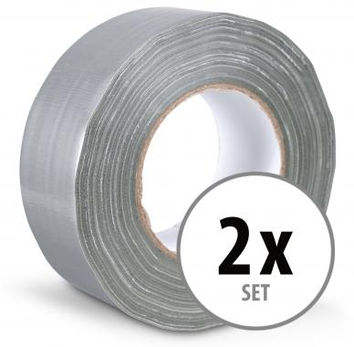 stagecaptain dt 4850g pro gewebeband klebeband gaffa tape 50m 2er pack grau. Black Bedroom Furniture Sets. Home Design Ideas