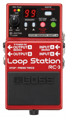 Boss RC-3 LOOP STATION USB 2.0 rc3