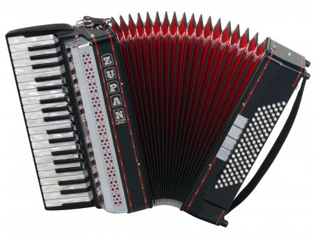 Zupan Alpe IV 96/M Accordion (black)