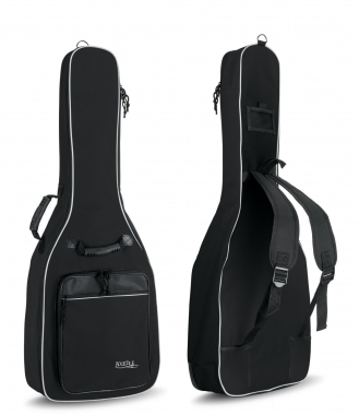 Rocktile 3/4 & 7/8 Classical Guitar Gig Bag Padded + Backpack Straps Black