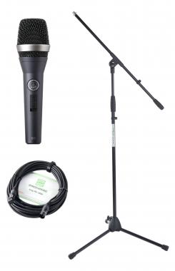 AKG D 5 S Mikrofon Set+ Ständer+ Kabel