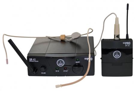 AKG WMS 40 Mini Sport Funk Headset ISM2, 864,375 MHz  - Retoure (Zustand: sehr gut)