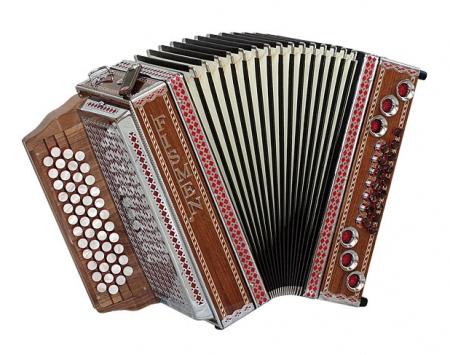 Fismen AlpLine 34 Harmonika Nussbaum