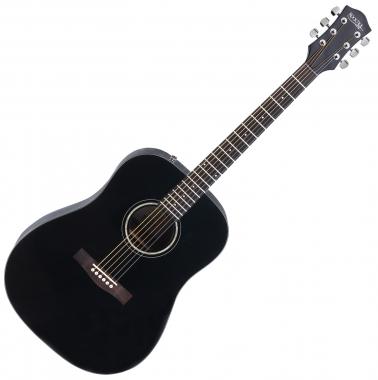 Rocktile D-60 Westerngitarre Schwarz  - Retoure (Zustand: gut)