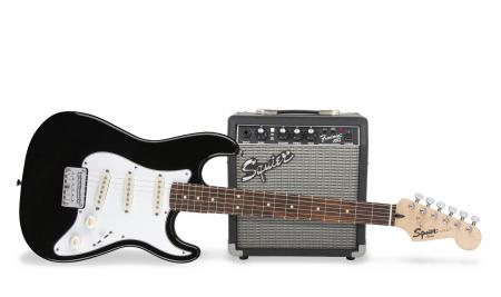 Fender Squier Strat Pack Short Scale BLK