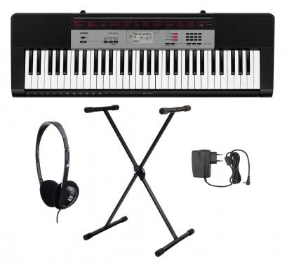 Casio CTK-1500 Keyboard Set mit Ständer, Kopfhörer und Netzteil