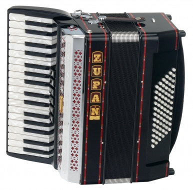 Zupan Alpe III 72 / M Accordion, black