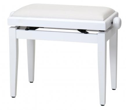 Steinmayer Pianobank Weiß Matt  - Retoure (Zustand: akzeptabel)