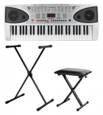 McGrey LK-5430 Light-Up Keyboard SET incl. Stand and Bench